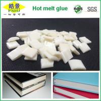 Cheap EVA Milky White Bookbinding Hot Melt Glue High Stickiness For Note Bookbinding wholesale