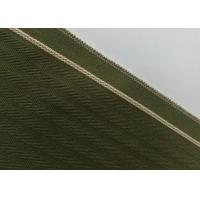 Cheap Woven Army Green Herringbone Flannel Fabric , 12.4oz Denim Raw Material For Jeans wholesale