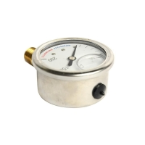 Cheap 100mm Bottom-Entry Pressure Gauge wholesale
