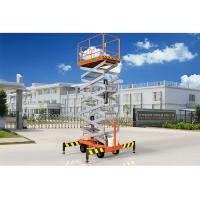Buy cheap Low Noise Mobile Aerial Work Platform One Man Lift For Indoor / Outdoor Construction from wholesalers