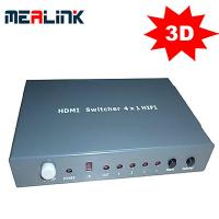 Cheap 4 Port HDMI Switcher With Audio Output wholesale
