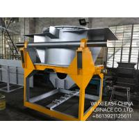 Cheap Cored Induction Copper Brass Bronze Melting Furnace , Upcasting Continuous Frequency Induction Furnace wholesale