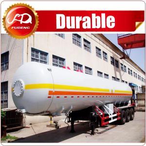 Cheap ASME standard liquid petrol gas delivery road tank semi trailer lpg tanker trailer for United Arab Emirates wholesale