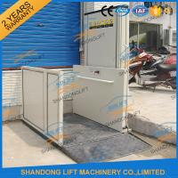 Cheap 1m - 12m Hydraulic Stair Wheelchair Platform Lift For The Old People With CE wholesale