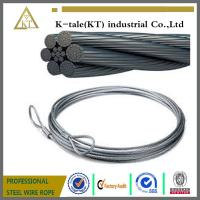 Cheap General Purposed Galvanized Steel Wire Ropes wholesale