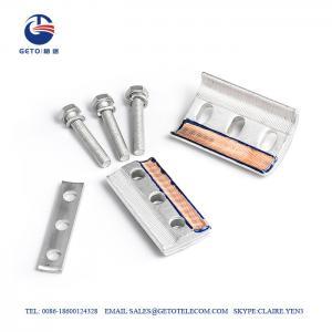 Cheap CAPG Bimetallic Copper Parallel Groove Clamp , Single Bolt Parallel Groove Connector wholesale