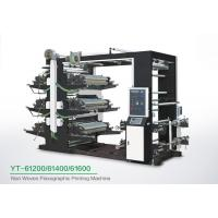 Cheap Eco Friendly 6 Color Flexo Printing Machine , Industrial Fabric Six Color Printer wholesale
