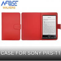 Cheap Wallet Style Leather Sony Ereader Covers and Cases Folio , Luxury Eco Friendly wholesale