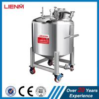 Cheap 50-10000L SS316, SS304 Stainless Steel Sealed Storage Tank with pressure wholesale