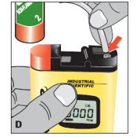 Cheap 2015 hot sell T40 portable CO /H2S gas monitor wholesale