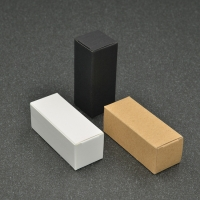 Cheap Customized Cosmetics Kraft Paper Essential Oil Bottle Packaging Boxes wholesale