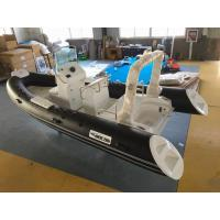 17ft  PVC panga boat  inflatable rib boat rib520 sunbed fuel tank with center console