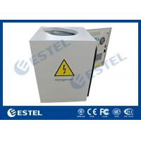 Cheap Anti - Corrosion Pole Mounted Cabinet With Shaped Hole Full Protection wholesale