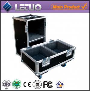 Cheap Aluminum flight case road case transport crate case empty speaker cabinets flight case wholesale