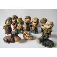 China Polyresin nativity sets and resin figure on sale
