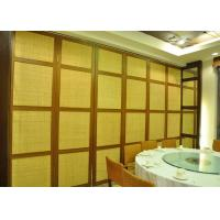 Cheap Wooden Glass Partition , Wood Sliding Doors Customers Own Material wholesale