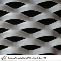 Cheap Expanded Aluminum /Aluminum Expanded Metal Mesh|In Flat and Raised Forms For Curtain Wall wholesale
