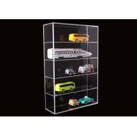 Cheap 5 Layer Clear Acrylic Display Stands Airplane Cars Model Storage Rack Customised wholesale