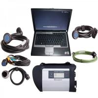 Cheap V2017.07 MB Star Diagnosis SD Connect  Compact C4 MB Star C4SD CONNECT With Dell D630 Laptop wholesale