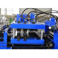 China New technology 80-300 Mm Automatic C Z Purlin Roll Forming Machine PLC Control System on sale