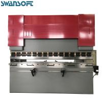China SWANSOFT Power Hydraulic 100T 2000mm E21 NC control for press brake Sheet Plate Metal brake lining press machine on sale