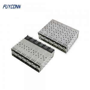 Cheap Small Form Factor Pluggable 240 Pin Press Fit EMI SFP Connector wholesale