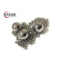 Cheap Hardened AISI 420 Stainless Steel Balls , 1.5mm / 2.5 Mm Steel Ball Wear Resistance wholesale