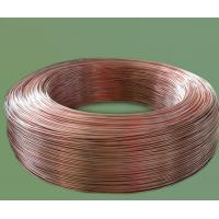 Cheap Thickness 4.76mm copper coated bundy pipes for evaporators, condenser with high strength wholesale