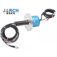 China Photoelectric 1550nm 2 Circuits 10A Fiber Optical Slip Ring on sale