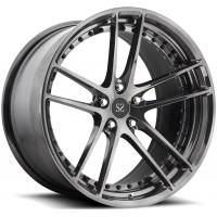 China Gloss Black Customized Alloy Rims For Ferrari 458  / 21inch 2-PC Forged Rims on sale