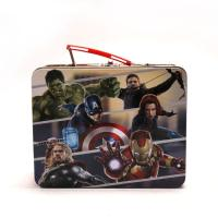 China Marvel Avengers Metal Tin Lunch Box on sale
