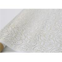 Cheap Moistureproof Hot Stamping Tissue Paper One Side For Flower Wrapping wholesale