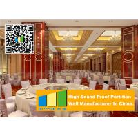 Cheap Collapsing Aluminium Movable Partition Walls , Restaurant Portable Partition Walls for sale