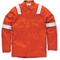 Cheap Big And Tall Welding Flame Resistant Clothing Orange Color High Vis wholesale