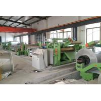 Cheap 0.4 - 3.0 mm Stainless Steel Cut to Length Machine Automatic Cut To Length Line wholesale