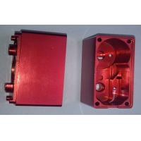 Cheap Red Anodized Custom Precision CNC Machining Services Aluminum Electronic Enclosures wholesale