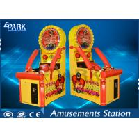 Cheap Kids Arcade Punching Machine / Punching Game Machine Steel Wooden Material wholesale