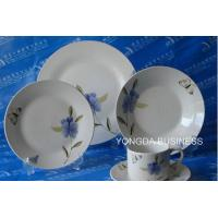 Cheap ceramic dinner set,  plates and dishes,  24 pieces dinnerware wholesale