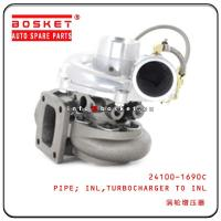Cheap 6BG1 24100-1690C Isuzu Truck Parts Turbocharger To Inlet Inlet Pipe wholesale