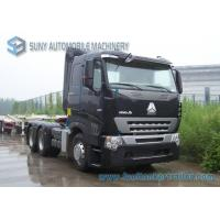 Buy cheap 420 HP Sinotruk HOWO A7 Tractor Truck Heavy Prime Mover AMT Gearbox Diesel Fuel from wholesalers