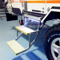 Cheap Electrical double foldable bus door step,electrical retractable bus foot step(EBS200D) wholesale