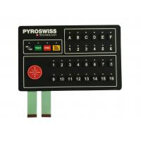 Cheap Industrial Control Silicone Membrane Switch RAL / Pantone Color Ultraviolet Proof wholesale