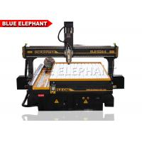 Cheap Professional 4 Axis Cnc Router Engraver Machine , Cnc Stone Engraving Machine 5.5 Kw Delta Inverter wholesale