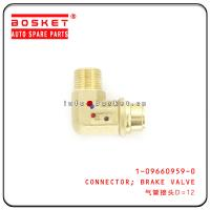 Cheap 1-09660959-0 1096609590 Brake Valve Connector For ISUZU CXZ51K EXR wholesale