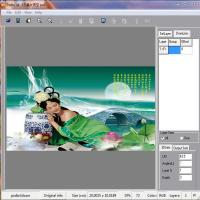 Cheap PLASTIC LENTICULAR 3d photo design software 2d photo to 3d lenticular conversion software wholesale