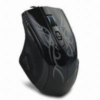 Cheap Ergonomic Gaming Mouse with Programming Driver, Measures 126 x 88 x 41.5mm wholesale