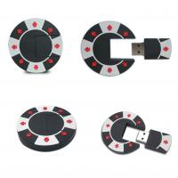 2014 hot sale poker chip pvc usb pendrive