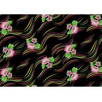 Cheap Decorator Printed Micro Velvet Fabric Soft 125gsm - 130gsm Weight wholesale