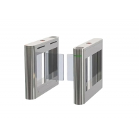 Cheap Access Management 40W SS304 Acrylic Barrier Turnstile Gate IP45 wholesale