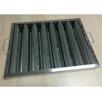 Cheap Cleaning Extractor Restaurant Hood Filters , Grease Filters For Kitchen Hoods wholesale